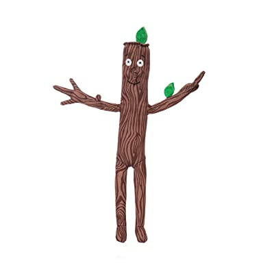 Aurora Stick Man Stickman Soft Toy, 60573, Character, Brown, 13in, as seen in The Gruffalo Series: Toys & Games