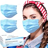Disposable Face Mask, Disposable Face Masks for Women, Breathable Face Mask for Men, Comfortable Cool Dust Mask with Nose Wir
