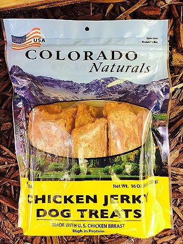 Colorado Naturals – Chicken Jerky Dog Treats, 1 Pound