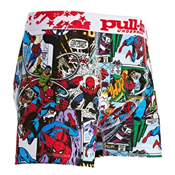 Spiderman In Bd Boxer Pull 2011 Marvel Fashion MSports knOPX80w