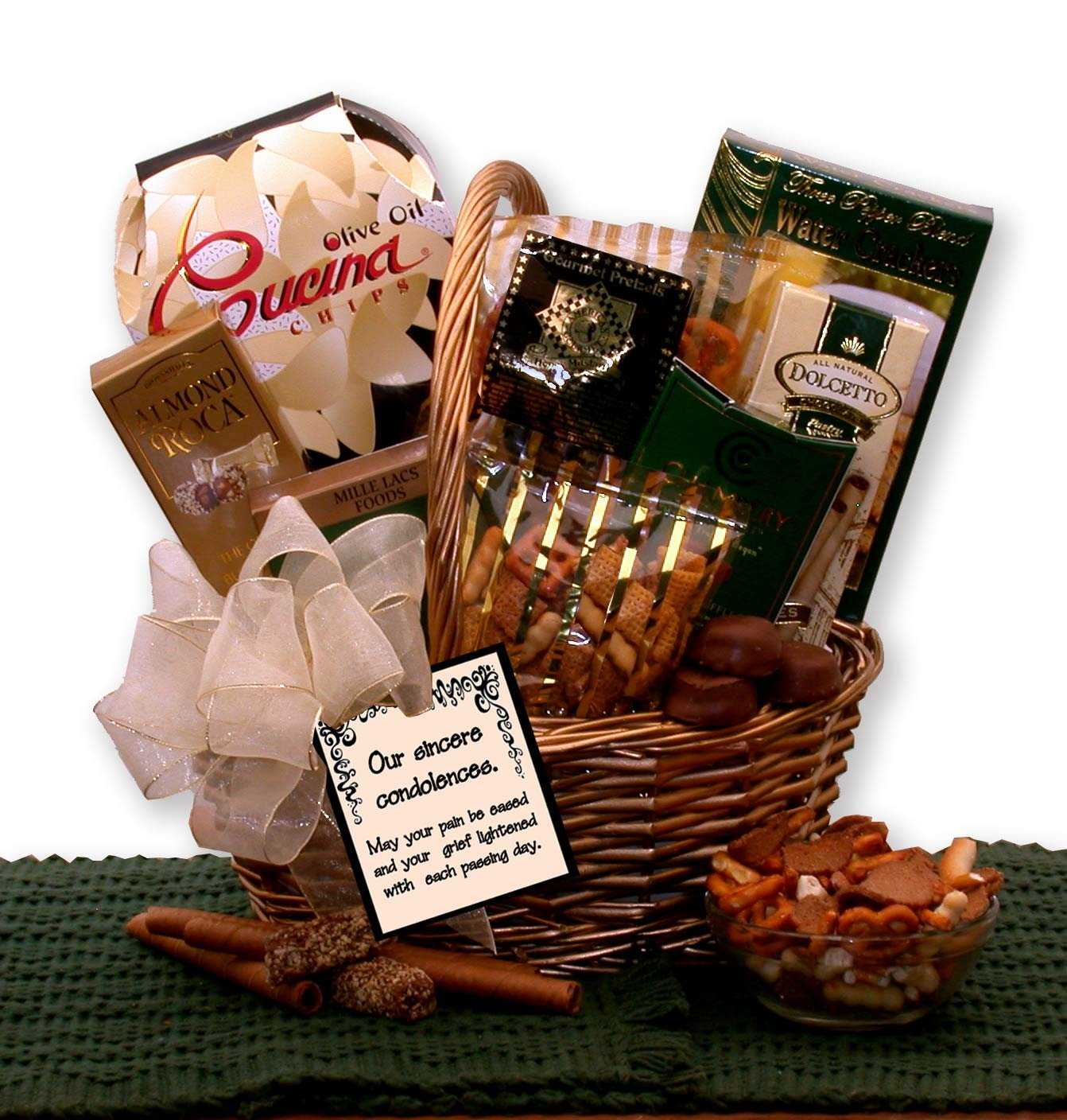 Sympathy Gift With Our Sincere Condolences Gourmet Gift Basket by Sympathy Gift (Image #1)