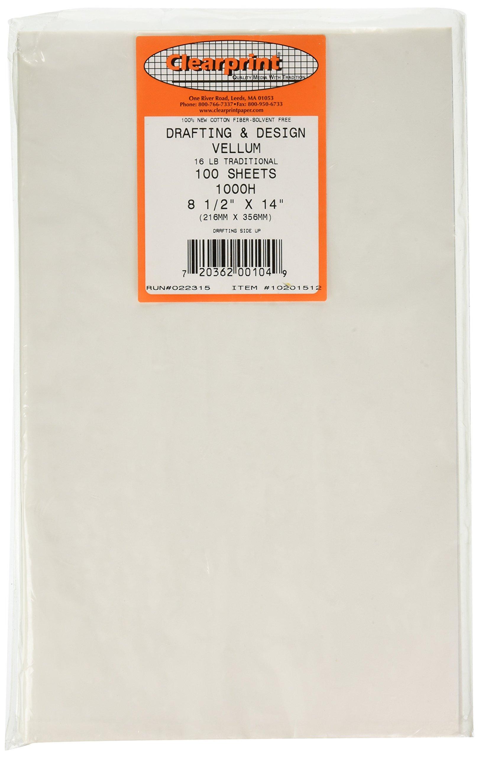 CLEARPRINT Alvin Cp10201512 85'' x 14'' Design Vellum (10201512) by Clearprint