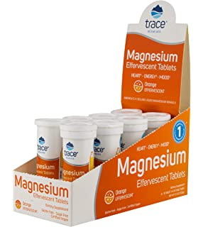 TRACE MINERALS RESEARCH Magnesium Effervescent Tablets Box, 8 Count