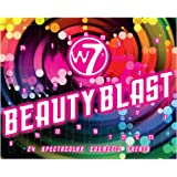 W7 Beauty Blast Advent Calendar 2021-24 Doors Of Makeup And Cosmetic Surprises For Christmas. Cruelty Free, Holiday Gifting F