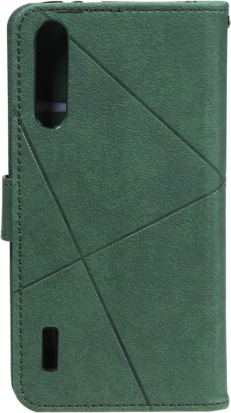 Housse en Cuir avec Porte Carte Fermeture par Rabat Aimant/é Antichoc /Étui Case pour Xiaomi Mi 9 Lite CC9 Portefeuille LOHHA150390 Bleu Lomogo Coque Xiaomi Mi 9 Lite