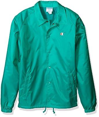 2d594e19e457 Amazon.com  Champion LIFE Men s Coaches Jacket West Breaker Edition ...