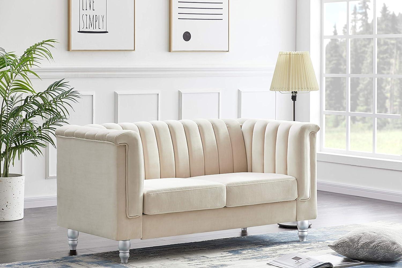 Glory Furniture G0558A-L Love Seats, Ivory