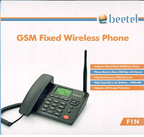 Beetel GSM Fixed Wireless Phone