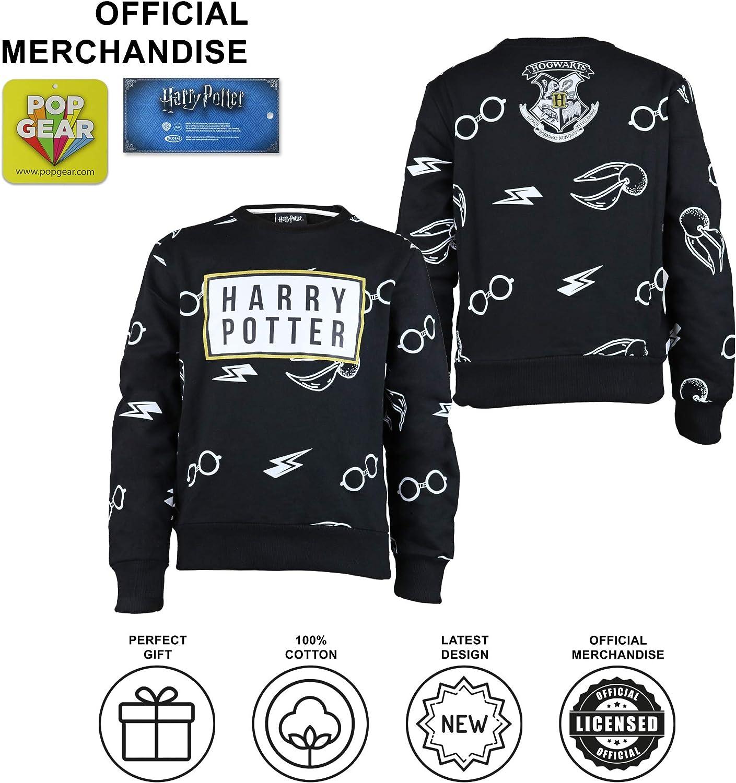 Merchandise Ufficiale Harry Potter Icons Ragazzi Felpa Girocollo/