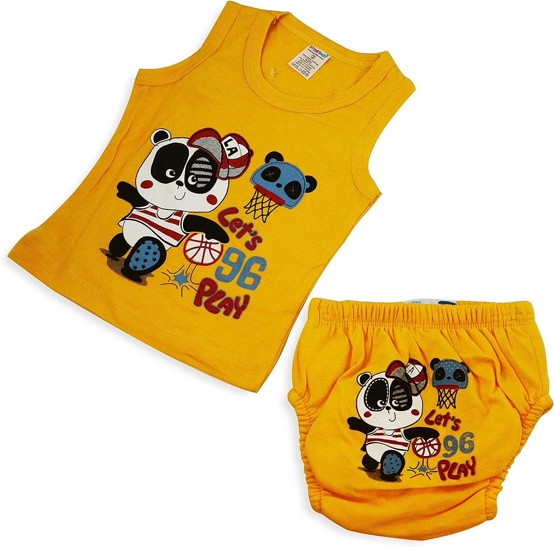 Wiederverwendbare Kleinkinder Windelhosen Lernwindeln Trainerwindeln Baby Unterw/äsche OZYOL Trainerhose Unterhemd Set f/ür Toilettentraining T/öpfchentraining