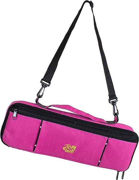 Tomandwill 33FCC-630 - Funda para flauta travesera, color rosa: Amazon.es: Instrumentos musicales