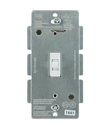 ge z wave wireless lighting control smart toggle switch in wall white ge wave wireless lighting control