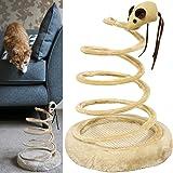 Me & My Pets Topolino su molla a spirale per gatto