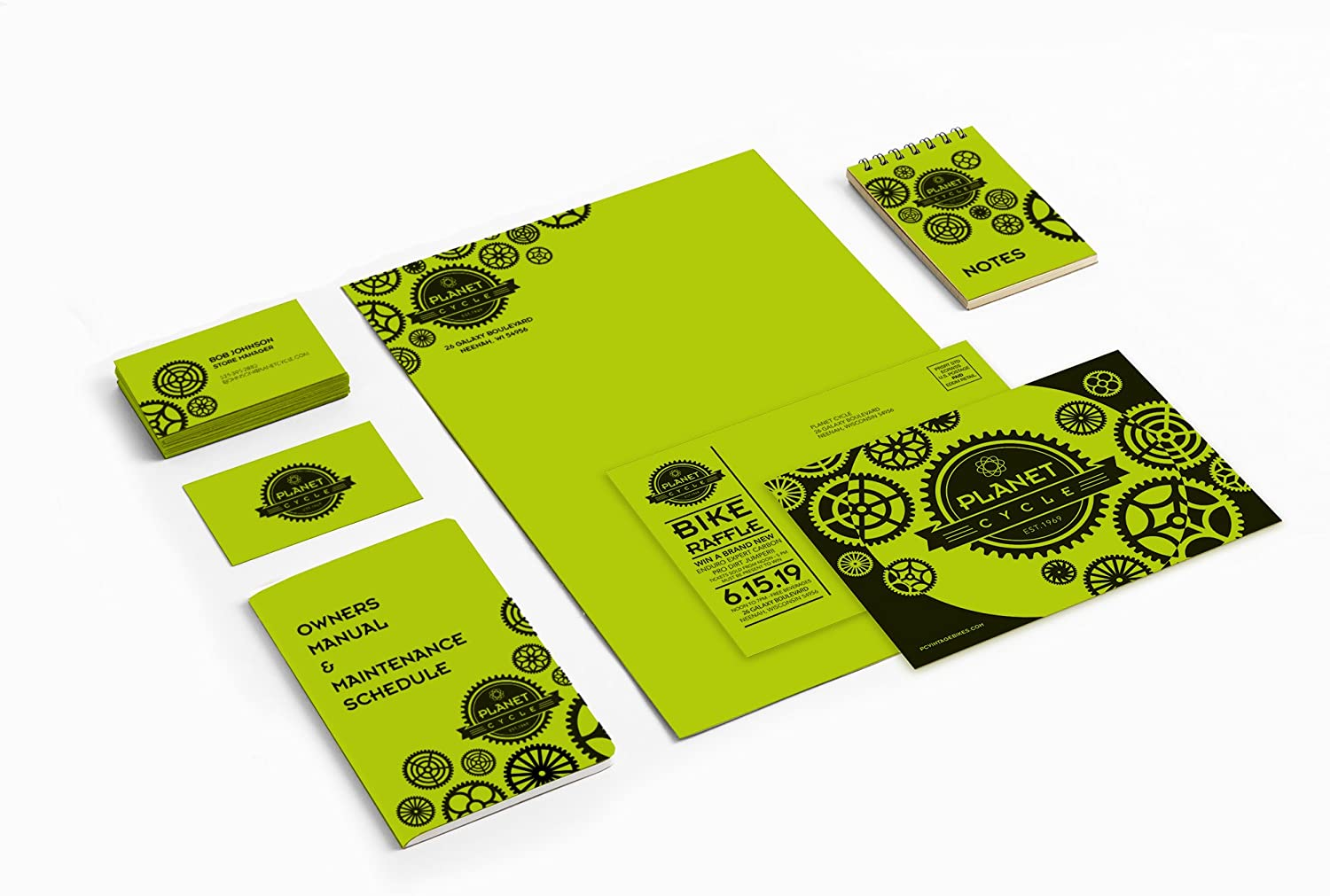 """Neenah Astrobrights Color Paper, 8.5"""" x 11"""", 24 lb/89 gsm, Terra Green, 500 Sheets (21788) : Cardstock Papers : Office Products"""