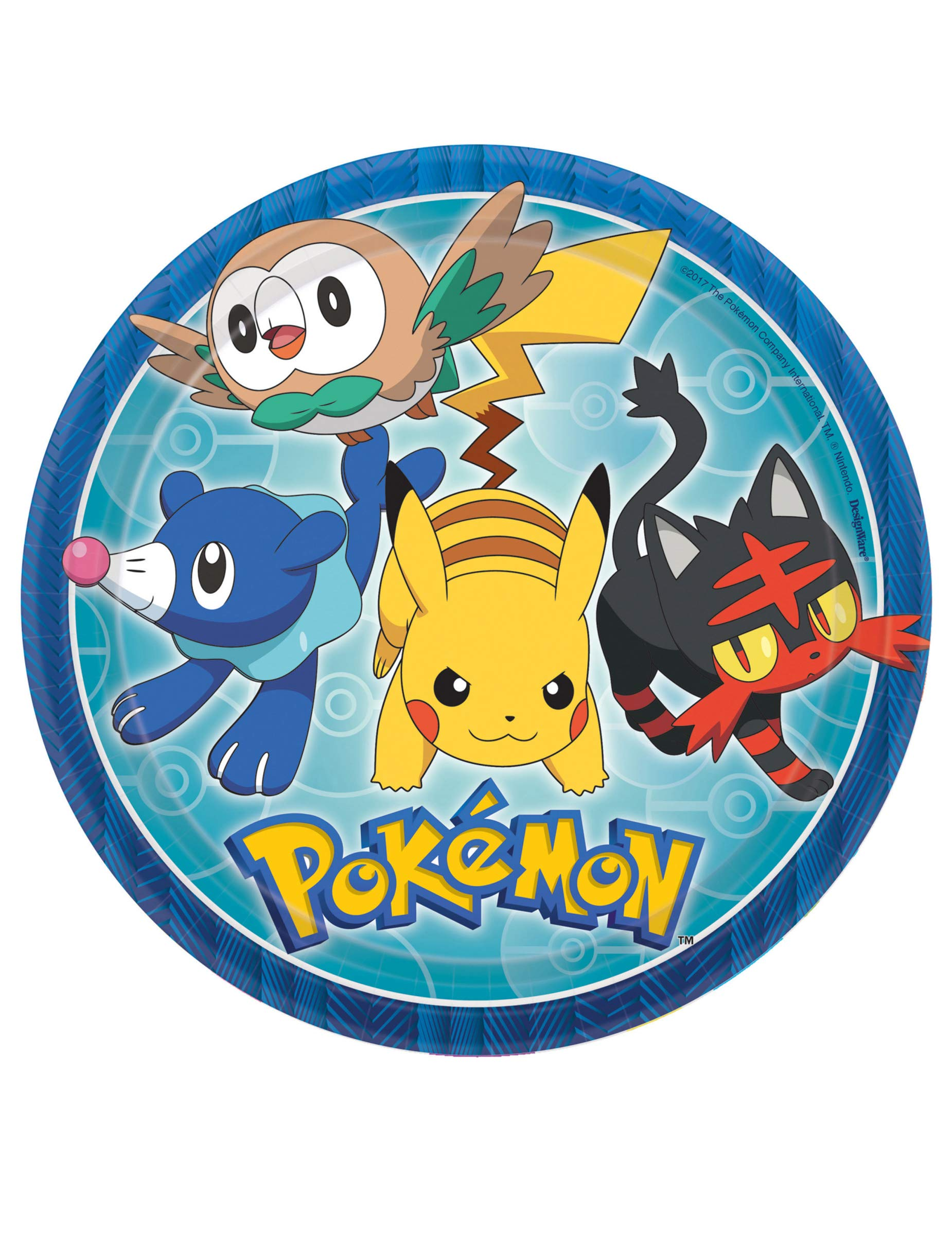 AMERICAN GREETINGS Pokémon 8 Count Combo Invite/Thank You Pack