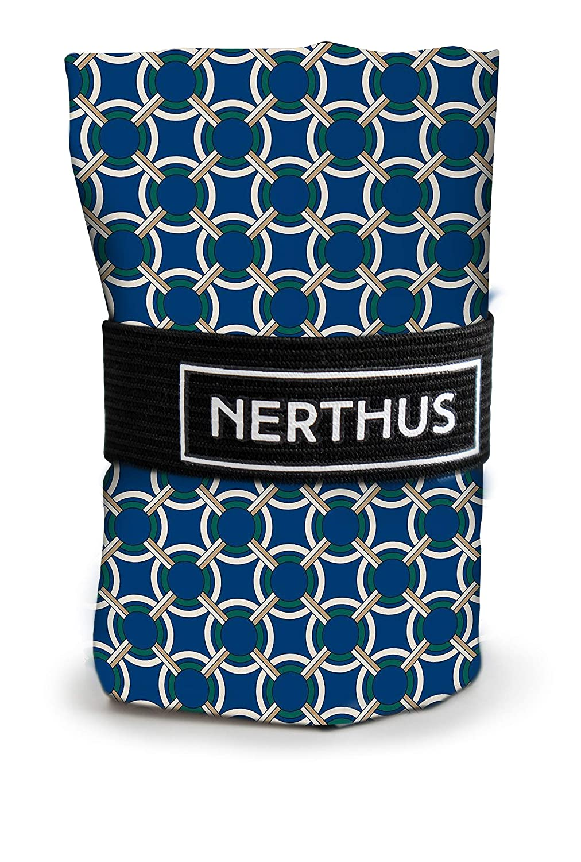 Unica Rojo NERTHUS Bolsa de la Compra Reutilizable Plegable Corazones Azules