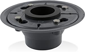 """LUXE 2"""" ABS Shower Drain Base with Rubber Gasket"""