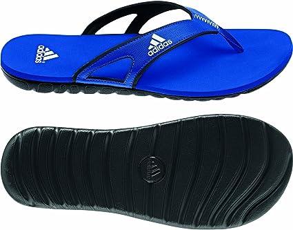coger un resfriado Hambre circuito  Adidas Flip Flops Calo 5 Herren Blau, Größe:6 - 39 1/3: Amazon.de: Sport &  Freizeit