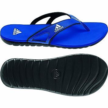 adidas flip flops blau