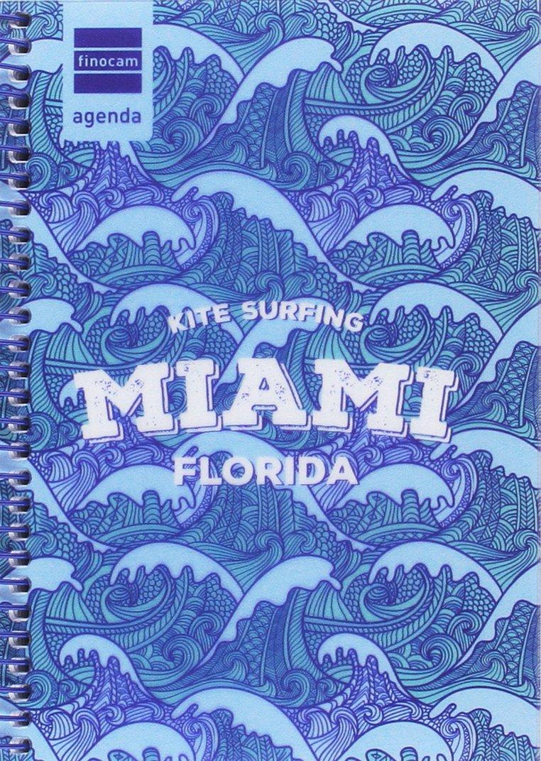 Agenda Prints 2017-2018 1/8 1 Día Página Finocam Modelo Miami