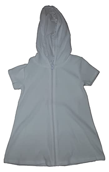 f092332d8f5c1 Image Unavailable. Image not available for. Color  Op Girls Terry Hooded  Swimsuit Cover Up (Extra Small 4-5 ...