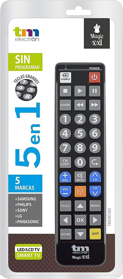 TM Electron TMURC502 - Mando a distancia universal Magic XXL con ...