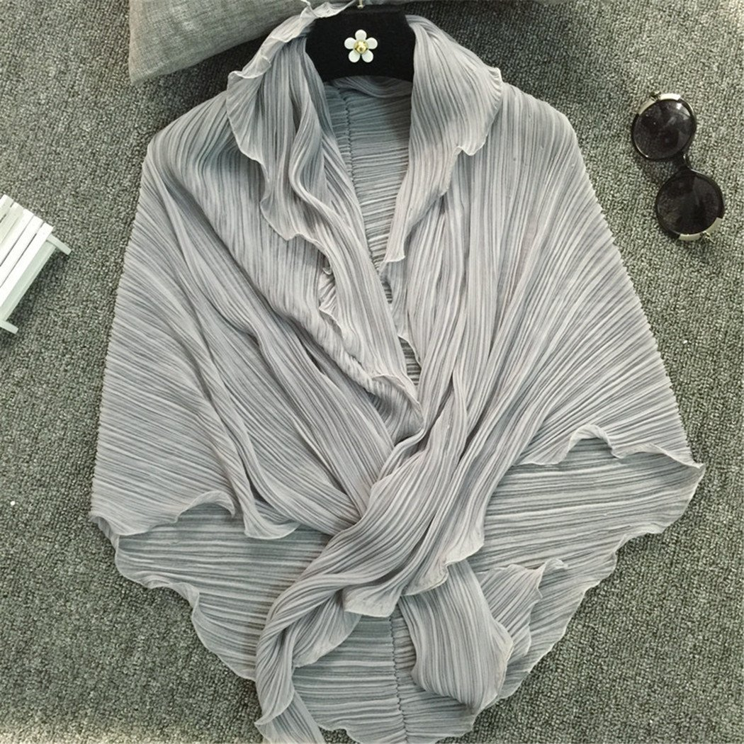 Santwo Schal//Bolero//Cardigan//Schultertuch aus Chiffon f/ür Damen als Sonnenschutz am Strand oder im Auto