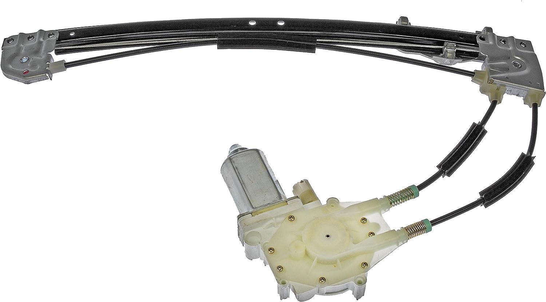 Dorman 741-416 BMW Rear Driver Side Power Window Regulator with Motor