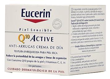 Eucerin Crema Día Q10 Active Piel Sensible 50Ml