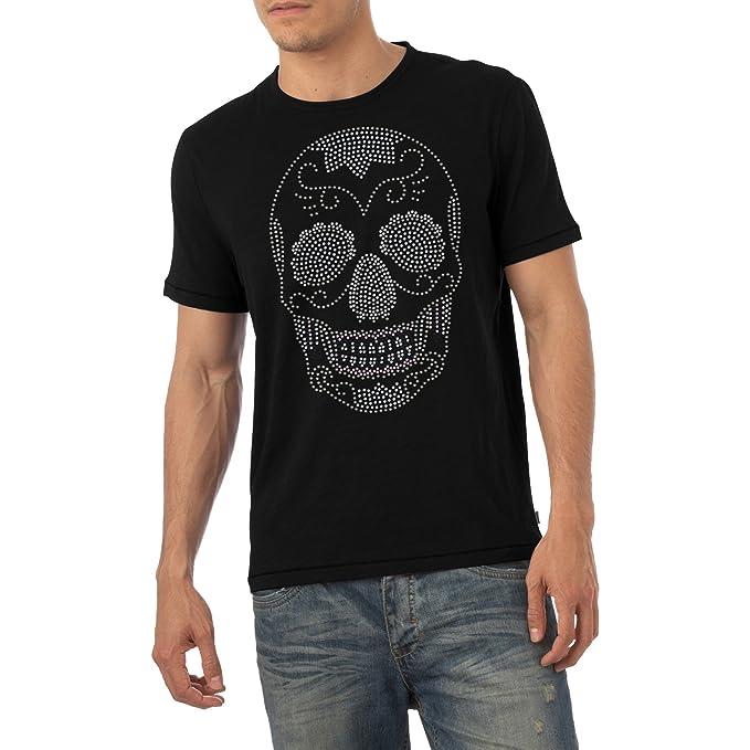 Calavera De Diamante Hombre Bling Gem T Camiseta Para Crystal pSUzGqMV