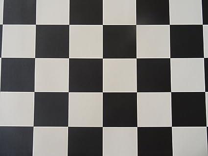 Pvc effetto scacchiera in bianco e nero di alpha di tex amazon