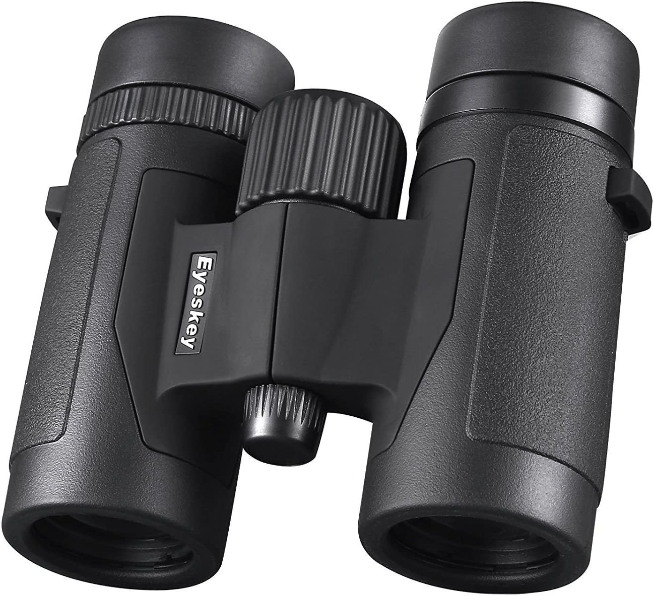 Eyeskey Compact 8X32 Travel Binoculars for Adults – HD Bak-4 Roof Prism Binos with FMC Lens – Waterproof and Fog-Proof – Crystal Images for Hunting Wildlife Watching