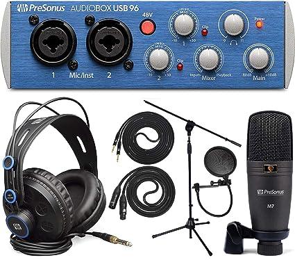 Amazon.com: Presonus AudioBox 96 - Interfaz de audio para ...