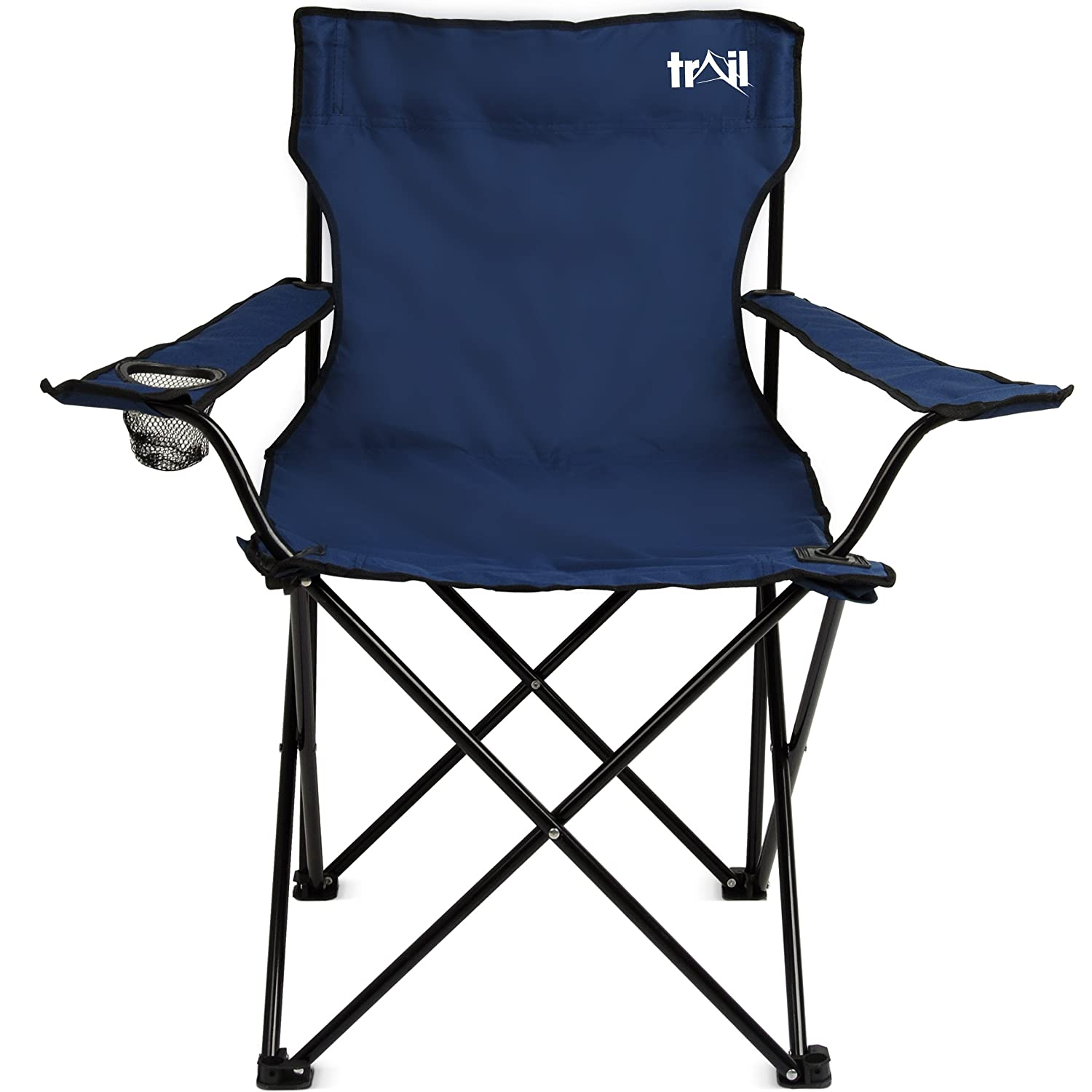Trail Folding Camping Chairs Fold Up Camp Festival Fishing Chair