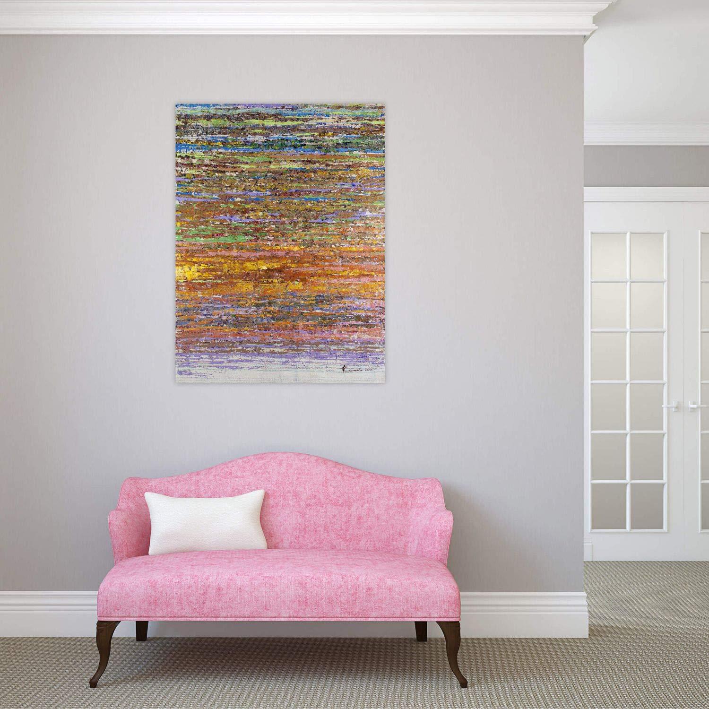 Kunstloft® Cuadro en acrílico La abstracción Hecha Color ...