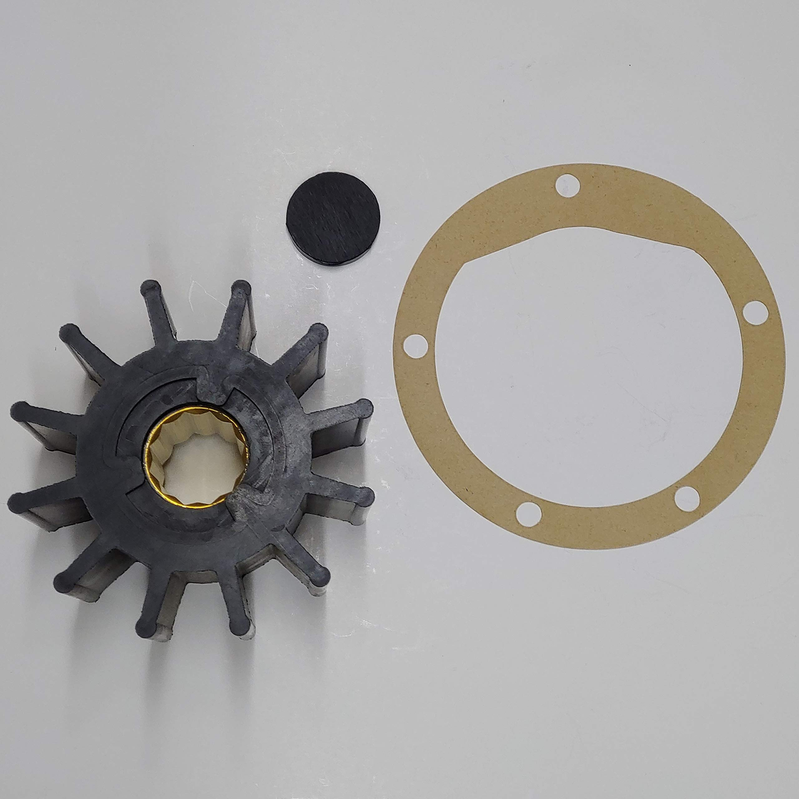 SCP Impeller Repair Kit Replaces Jabsco 17935-0001-P for Raw Sea Water Pumps by StayCoolPumps