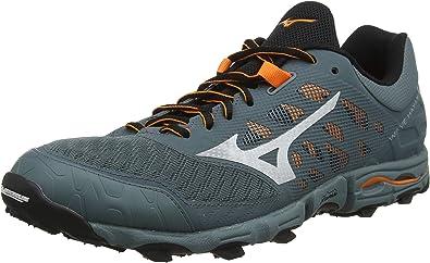 Mizuno Wave Hayate 5, Chaussures de Trail Homme, Gris