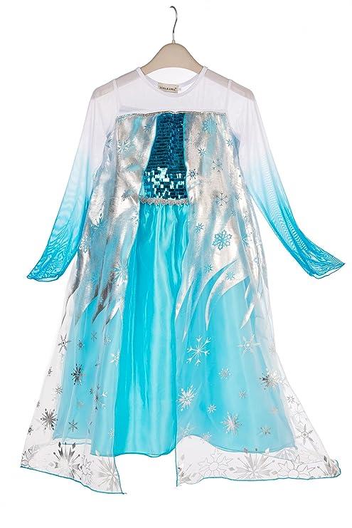 63069fc26d78 ELSA   ANNA® Ragazze Principessa abiti partito Vestito Costume IT-Dress-SEP305  (