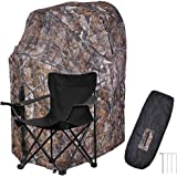 1 Man Fold Chair Ground Deer Hunting Blind Woods Camouflage Turkey Hunting Tent 1 Man Fold Chair