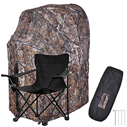 1 Man Fold Chair Ground Deer Hunting Blind Woods Camouflage Turkey Hunting Tent 1 Man Fold  sc 1 st  Amazon.com : tent blind - memphite.com