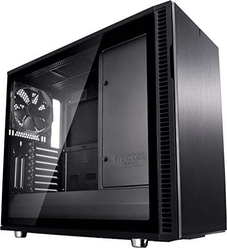 Fractal Design Define R6 USB-C–TG Escritorio Negro - Caja de ordenador (Escritorio, PC, Aluminio, Acero, Vidrio templado, ATX,EATX,ITX,Micro-ATX, Negro, Juego): Amazon.es: Informática