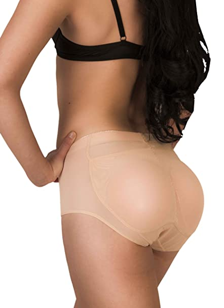 32e61ee54c5 Image Unavailable. Image not available for. Color  Butt Pads Fake Butt  Silicone Buttocks Shaper Panty ...