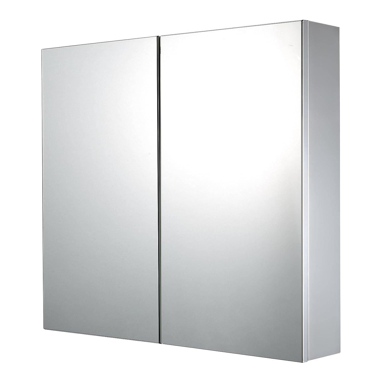 Premier Housewares Placard de salle de bains avec tiroir sup/érieur Blanc 76 x 42 x 34 cm