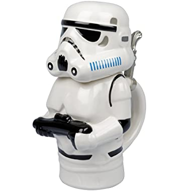 Star Wars - Stormtrooper Ceramic Beer Stein with Hinged Lid - 22 oz