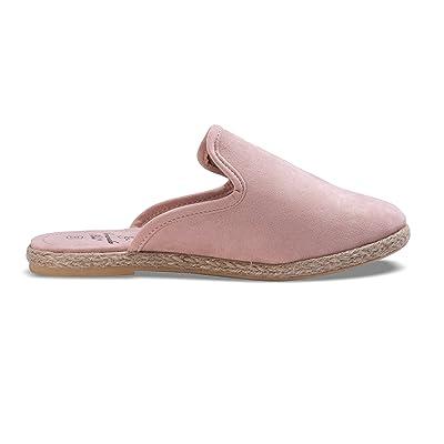Amanda Blu Espadrille Mule Slip-on Shoe