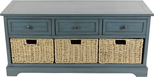 D cor Therapy Montgomery Bench, Antique Navy