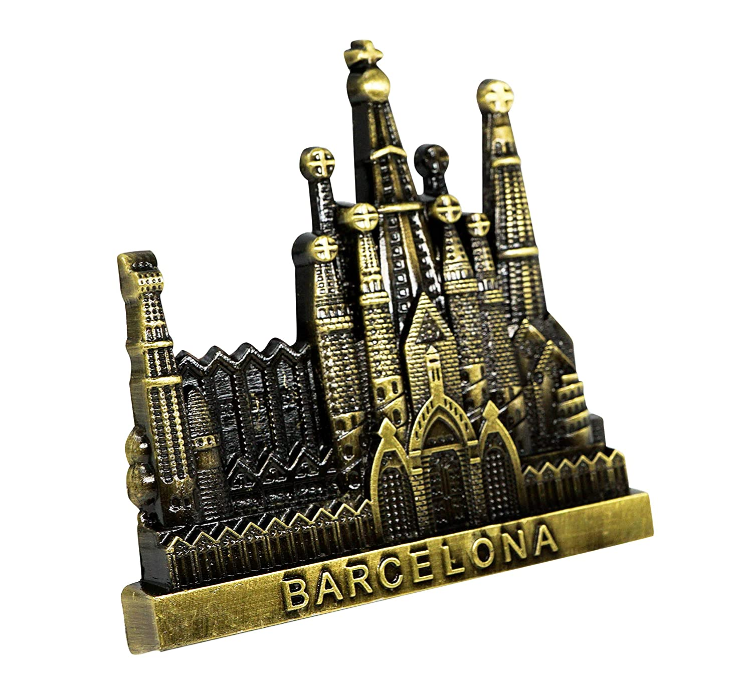 Sagrada Familia, Spain, 3D Imán De Metal para Nevera, Regalo de ...