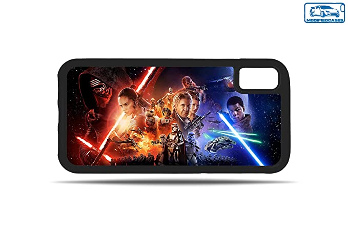 Amazon Com Force Awakens Wallpaper Star Wars Bumper Phone Case