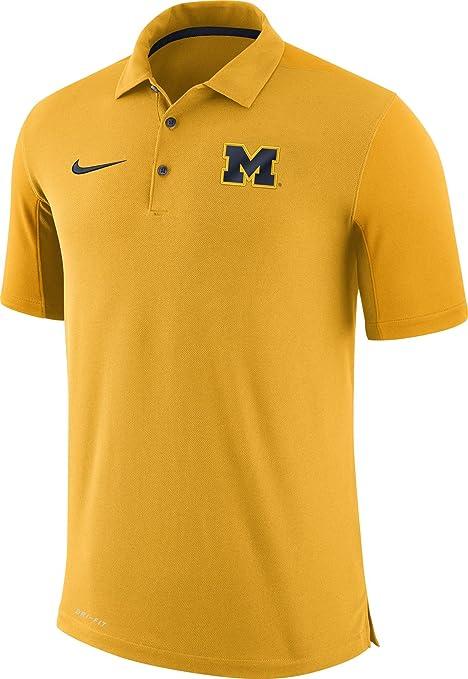 Nike Hombres de Michigan Wolverines maíz Equipo cuestión fútbol ...