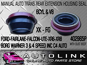 REAR MANUAL AUTO TRANSMISION EXTENSION HOUSING SEAL SUIT FORD FALCON